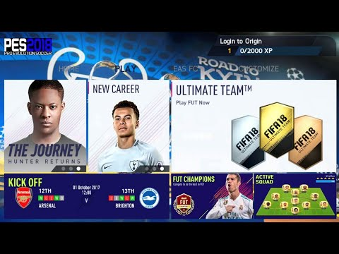 FIFA 14 Mod 2018 Android Offline 900 MB Best Graphics New Menu
