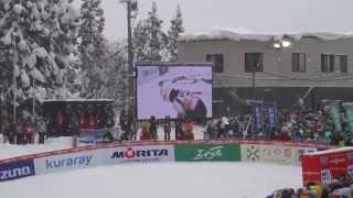 FIS スキージャンプワールドカップレディース2014蔵王大会 サラヘンドリクソン 検索動画 17