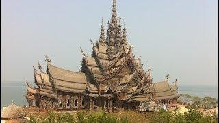 Храм Истины. Паттайя. Таиланд/Sanctuary of Truth. Thailand(Строительство началось в 1981 году. Цель-построение деревянного храма, призванного сохранить древнее Знание...., 2014-03-21T14:34:15.000Z)