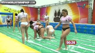 Brazilian Women's Hot Football Game