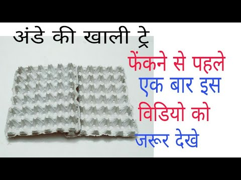 Best use of waste egg tray craft idea 💡#amazing craft #DIY craft at home