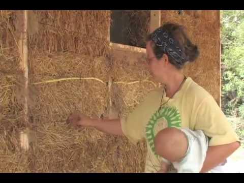 straw bale electrical youtube rh youtube com Cob House Interior Cob House Plans