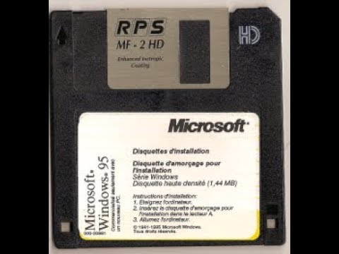 Story Time 6   Fun With Windows Startup Disks Bootable Floppies