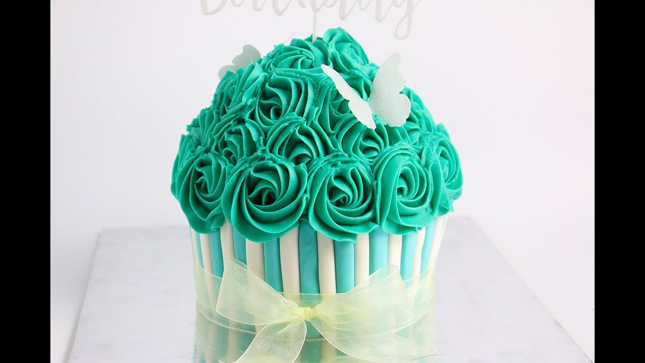 How To Make A Gaint Cup Cake