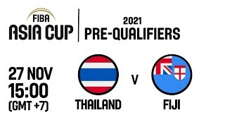 Thailand v Fiji - Full Game - FIBA Asia Cup 2021 Pre-Qualifiers  2019