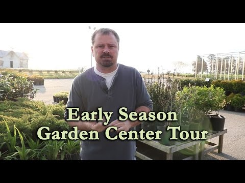 Early Season Garden Center Tour (Earthworks Nursery)