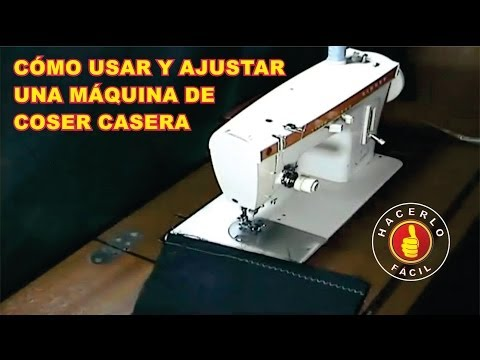 Aprendendo a mexer na maquina de costura - Como passar