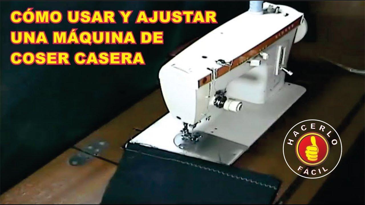 Cómo Usar y Ajustar Una Máquina De Coser | Hacerlo Fácil