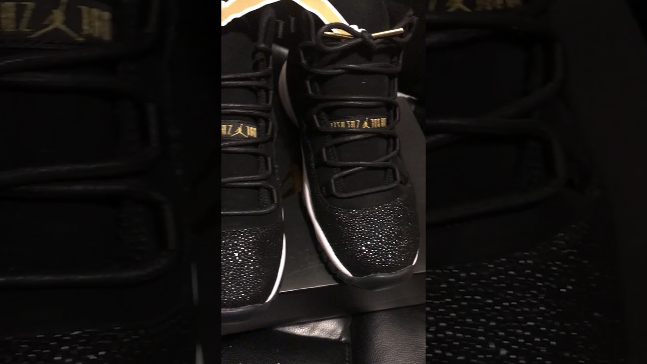 How to lace up your stingray retro 11s - YouTube 9f9e14b14