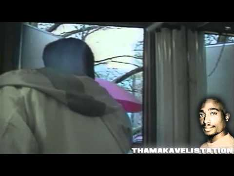 2Pac Young Age 19 behind the scene of  Movie Juice & In Studio session HD
