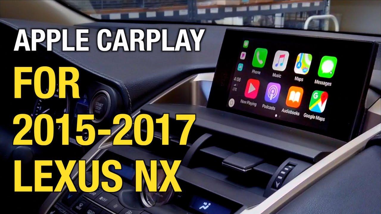 Lexus Apple Carplay >> 2015 2017 Lexus Nx Apple Carplay Android Auto Install Demo