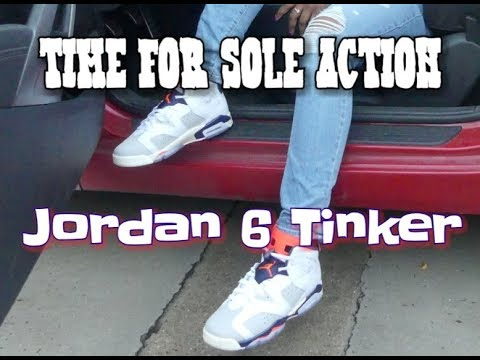 597d0450fc941f TFSA review of the Jordan 6 tinker plus on feet and some ...