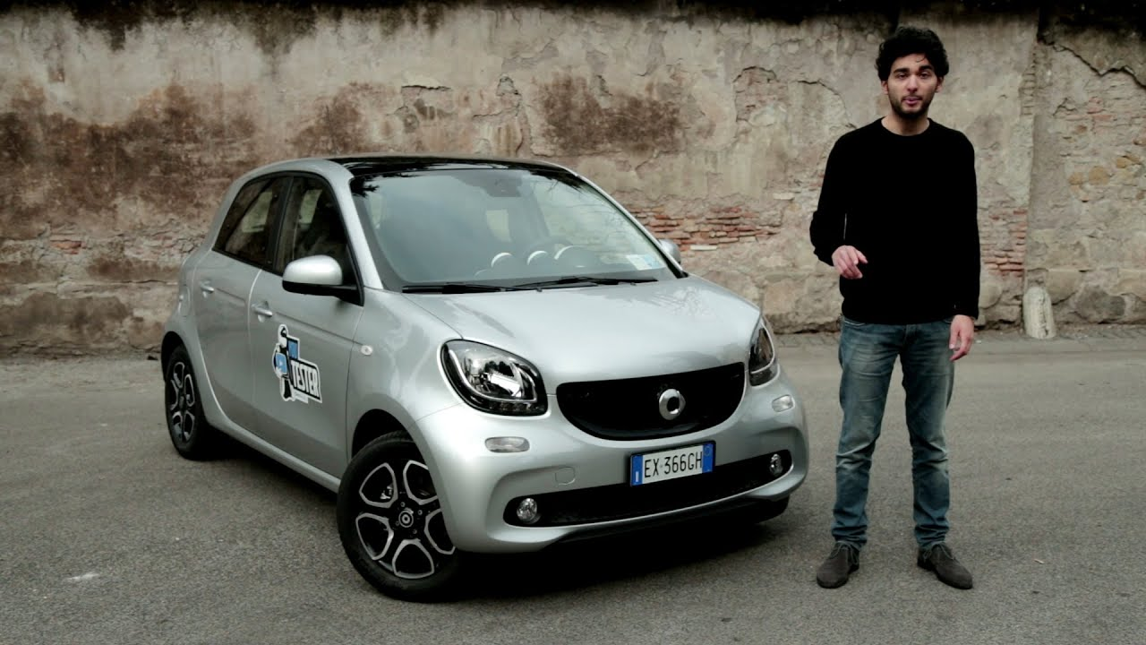youtester smart forfour la prova di andrea bulleri youtube. Black Bedroom Furniture Sets. Home Design Ideas