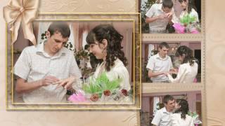 День свадьбы The wedding day (слайд шоу)