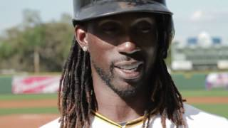 2012 MLB Opening Day: Andrew McCutchen