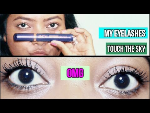 bbcc722cb6f Oriflame The One 5 in 1 Wonder Lashes Mascara Waterproof//  Review//Feedback|Shalini Bhagat Vlog