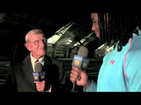 Jaylon Smith Interviews Lou Holtz