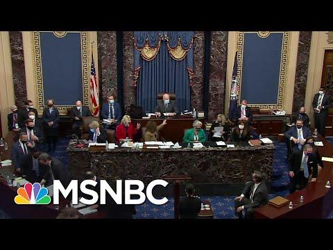 Senate Acquits Trump On Article of Impeachment For 'Incitement Of Insurrection' | MSNBC