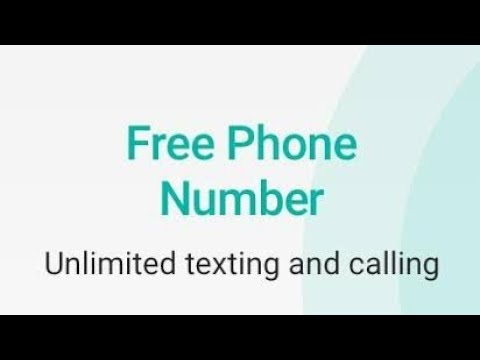 How to get Unlimited phone number by 2nd Line app, US Phone number