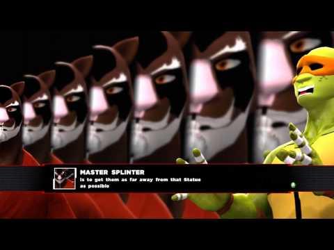 TMNT Turtle Power! - WWE 2K14 Custom Story