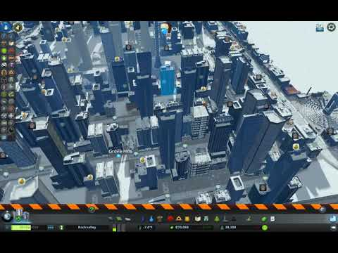 Cargo Containers! Cities: Skylines Green Cities Challenge | Snowfall | Chicago | (Part 4)