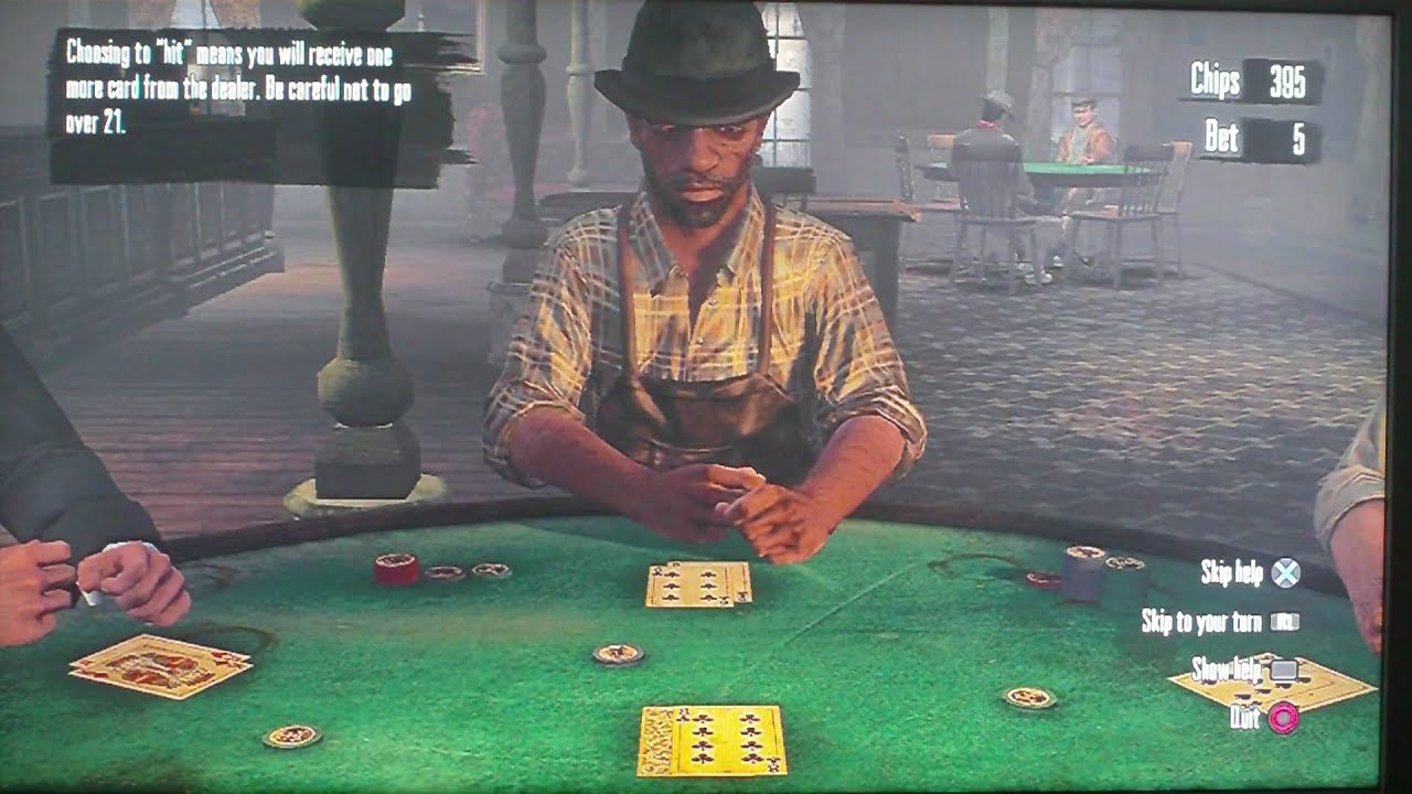 Blackjack red dead