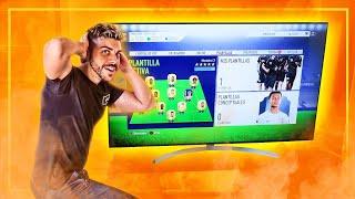FIFA 18 CHALLENGE en la nueva LG Super UHD Nano Cell TV