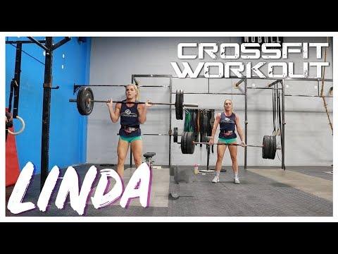 Crossfit Girl's Workout Linda | Sarah Grace Fitness
