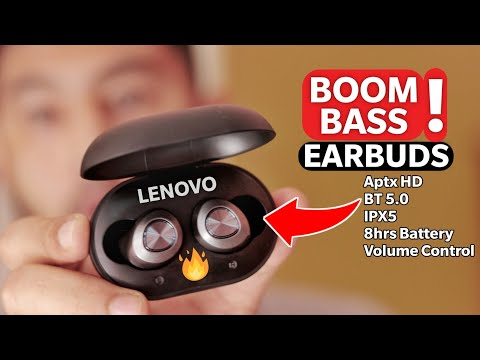 Lenovo HT10 Review - INDIA | Best True Wireless Earphone with water Resistance, Aptx HD, Extra Bass
