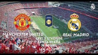 Real Madrid vs Manchester United | ICC PROMO