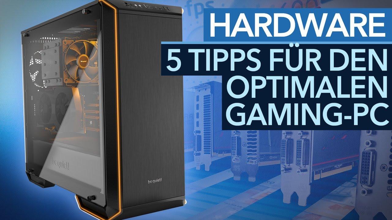 gaming pc guide f nf tipps f r den optimalen selbstbau rechner youtube. Black Bedroom Furniture Sets. Home Design Ideas
