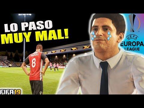 NO ESPERABA EMPEZAR ASÍ EN LA EUROPA LEAGUE!!   FIFA 19 Modo carrera thumbnail