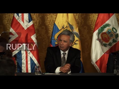 Ecuador: UK signs post-Brexit trade agreement with Peru, Ecuador and Colombia