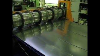 Линия продольной резки рулонного металла ООО ШАТАЛОВ