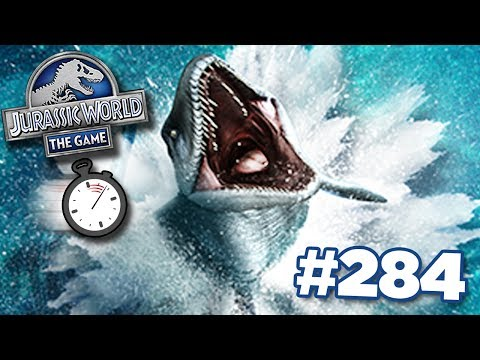 MOSASAUR TOURNAMENT TIME CRUNCH!!! || Jurassic World - The Game - Ep284 HD