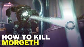 Destiny 2:  How to Kill Morgeth the Spirekeeper Ogre - Last Wish Raid Guide (Boss 3) thumbnail