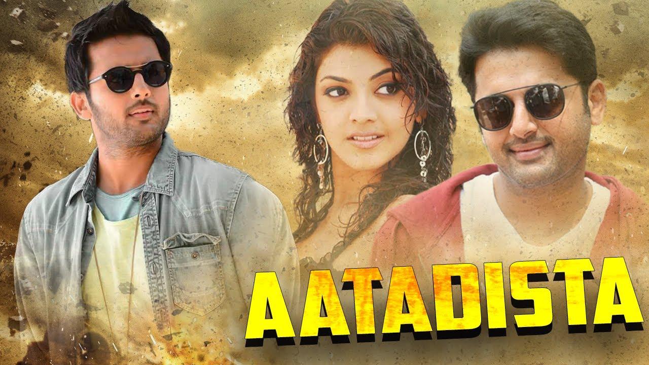 Download Aatadista South Movie Hindi Dubbed   Nithin Hindi Dubbed Movies Full   Kajal Aggarwal
