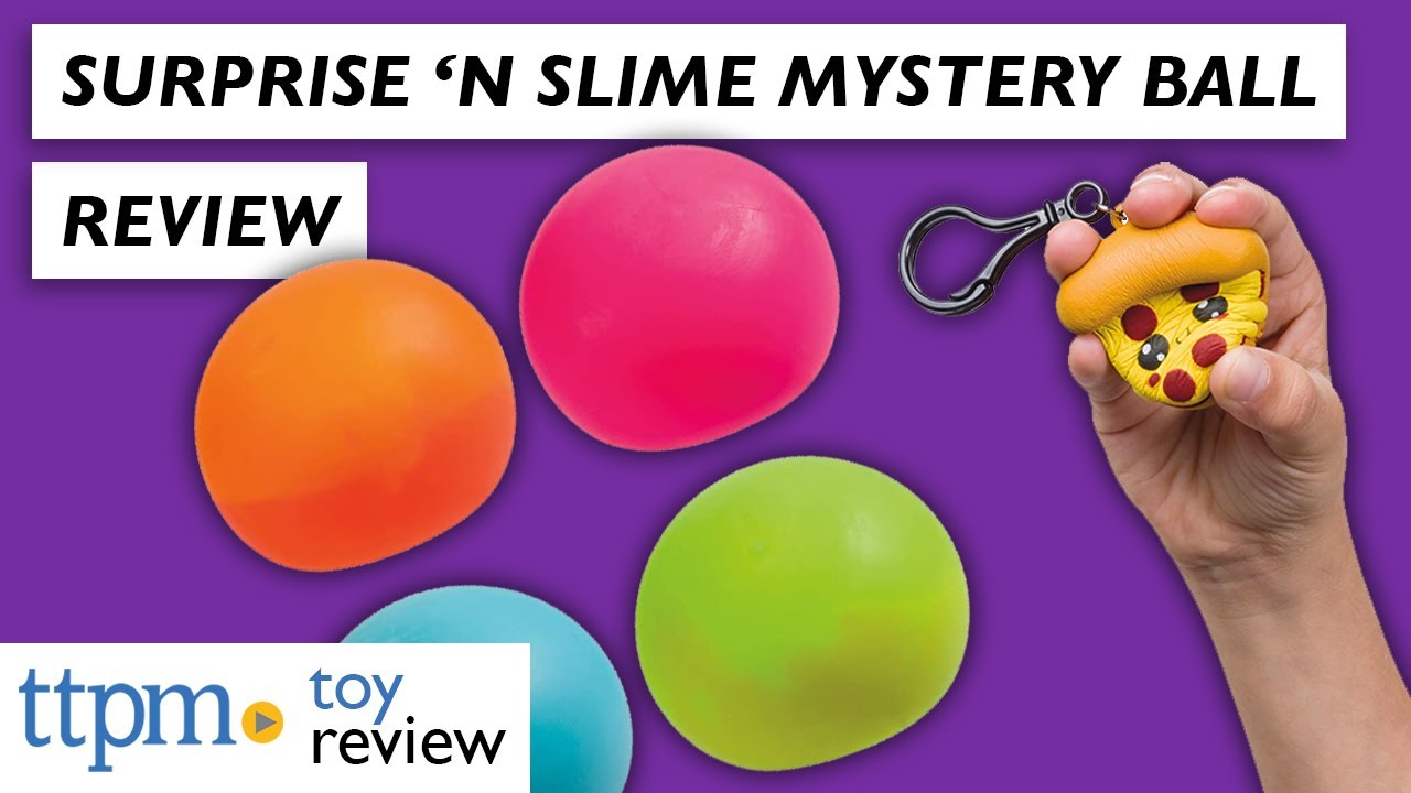 Surprise 'N Slime Mystery Ball from Toysmith