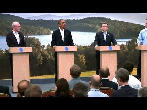 President Obama Makes a Statement on the Transatlantic Trade and Investment Partnership