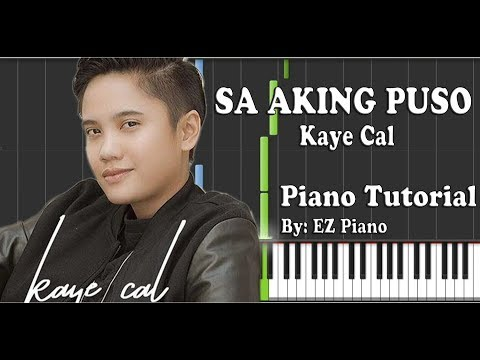 Chords For Sa Aking Puso Kaye Cal Piano Tutorial Synthesia