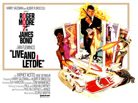 1973 - James Bond - Live and let die: title sequence
