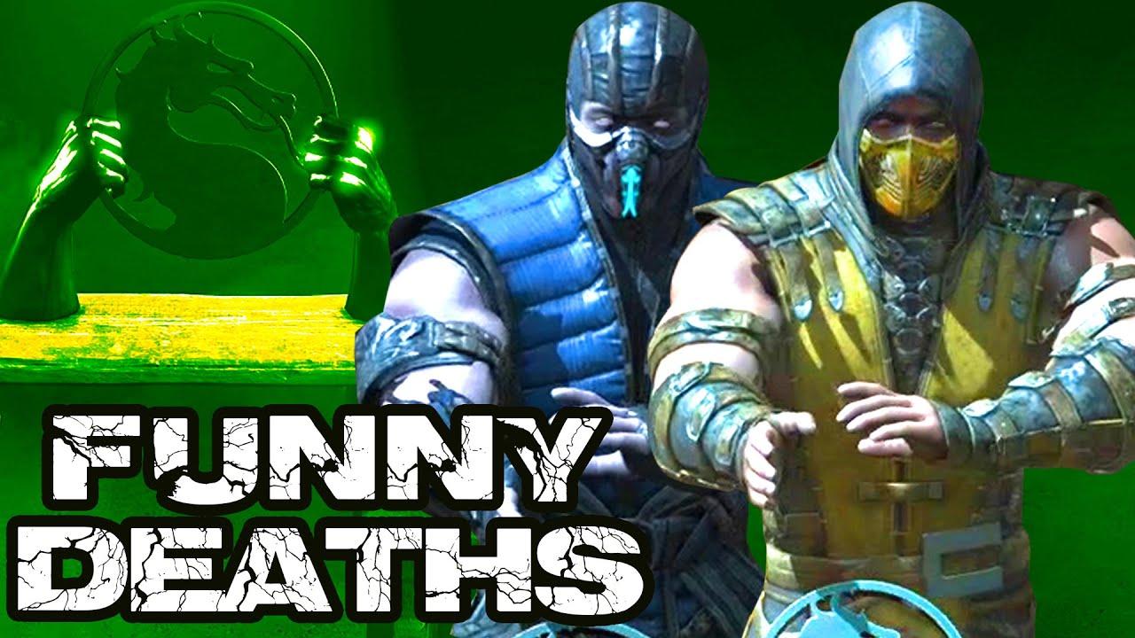 Mortal Kombat X Funny Deaths In Test Your Might Desafio De