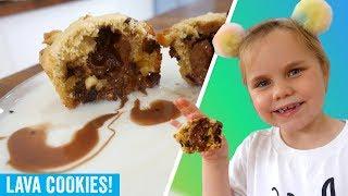 Chocolate Lava Cookies Recipe