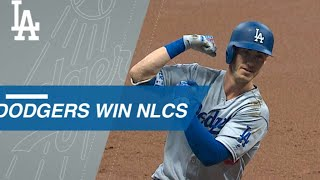 Dodgers win the NLCS in 7 games