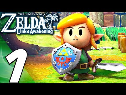Legend of Zelda: Link's Awakening - Gameplay Walkthrough Part 1 - FULL GAME (REMAKE)