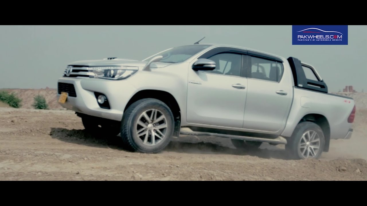 Toyota Hilux Revo Detailed Review: Price, Specs & Features | PakWheels