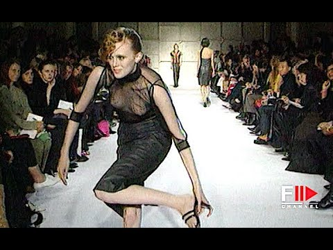 COSTUME NATIONAL Spring Summer 2000 Paris - Fashion Channel