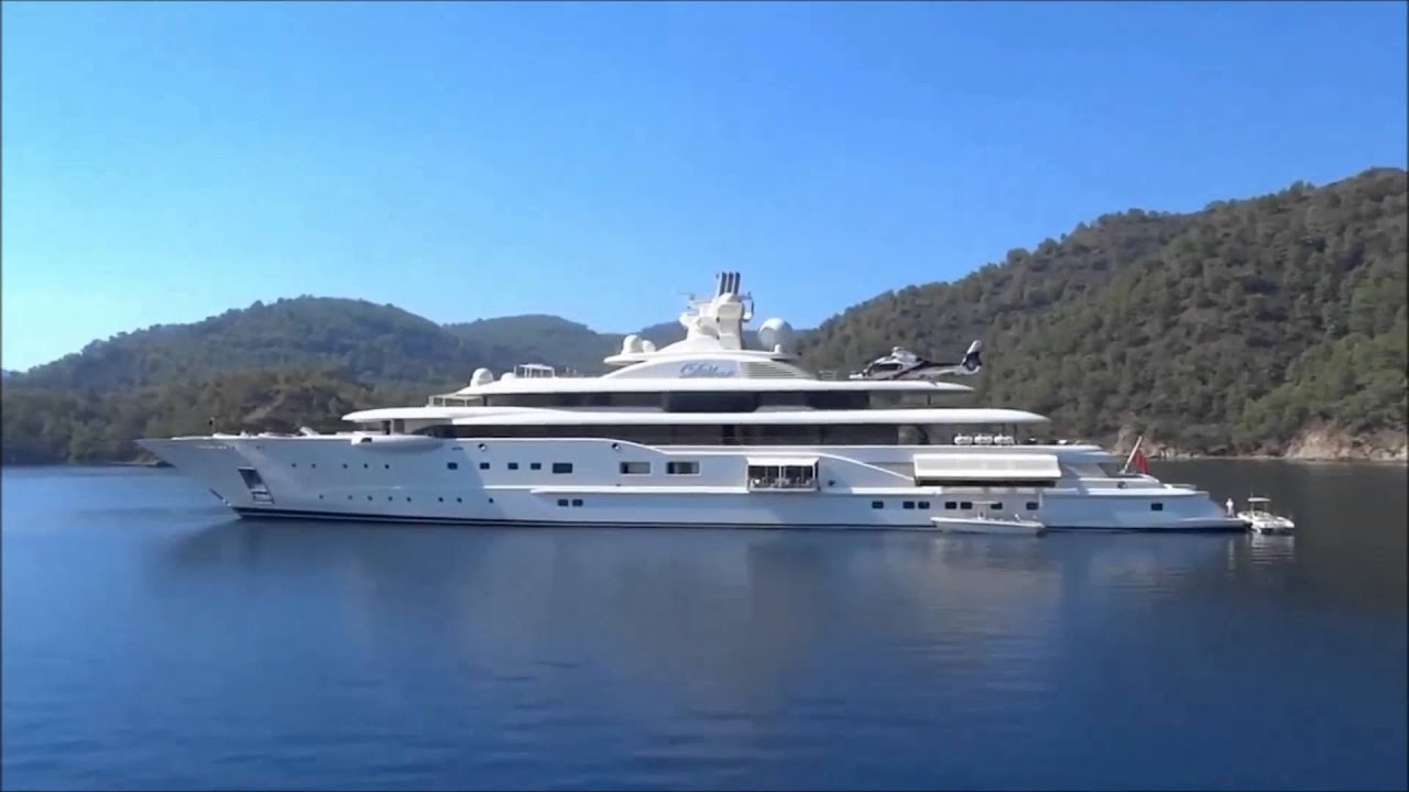 Top Ten Biggest Yachts