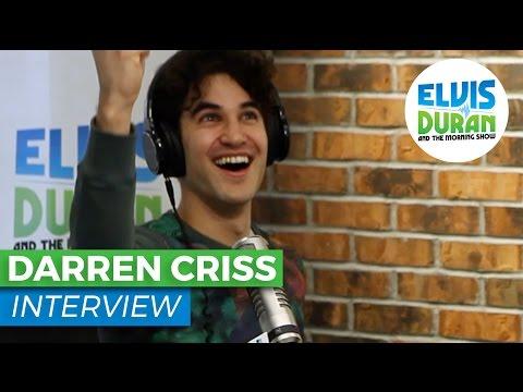 Darren Criss Interview Talks Broadway and Elsie Fest   Elvis Duran Show