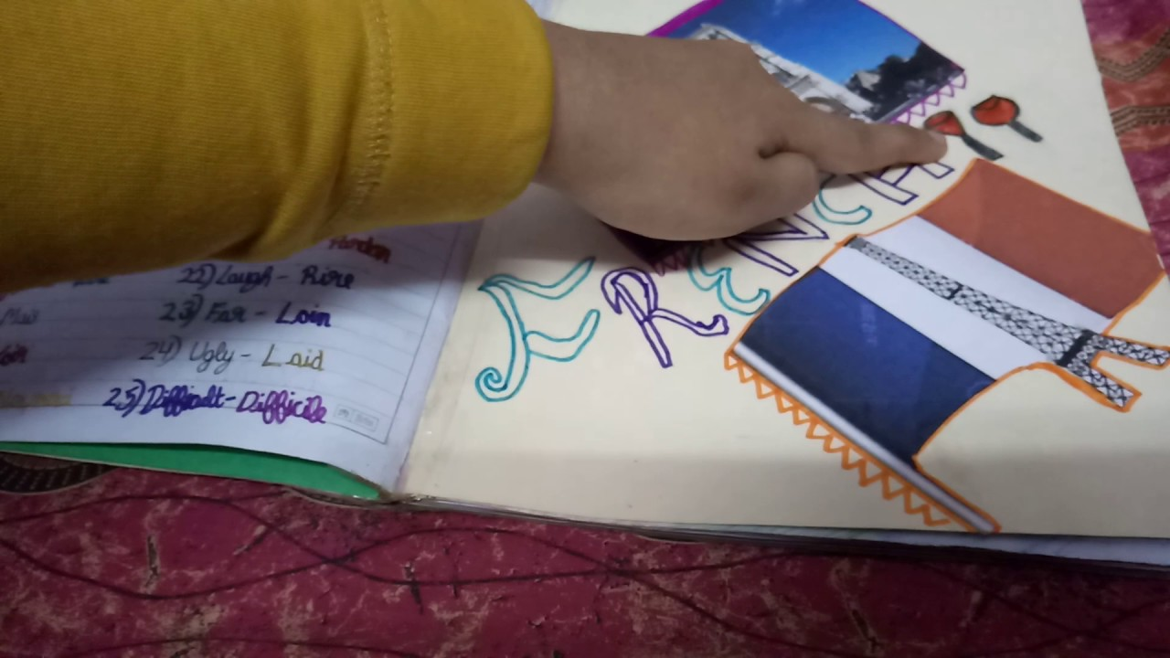 how to decorate your homework book decoration ideas for school project 13508